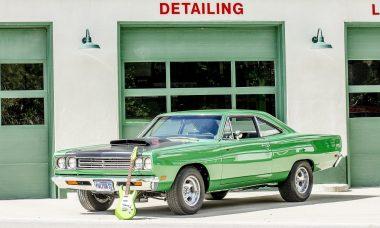 prendre soin de sa voiture de collection